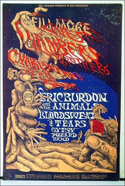 BST Fillmore Poster