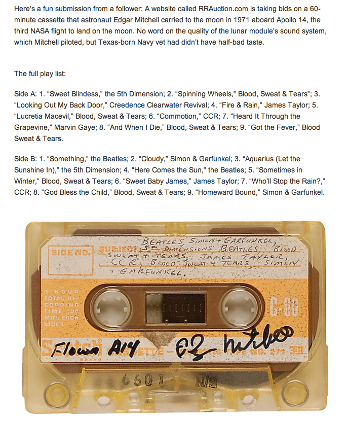 moon cassette copy